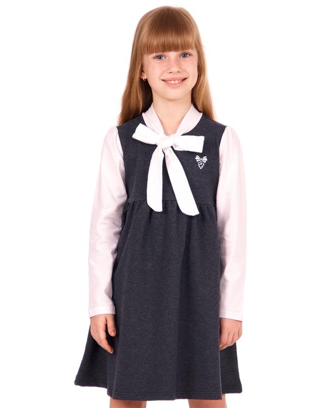 Платье для девочки, коллекция Школьная пора