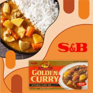 Соус S&B Golden Curry Mix нежный, 220 г.