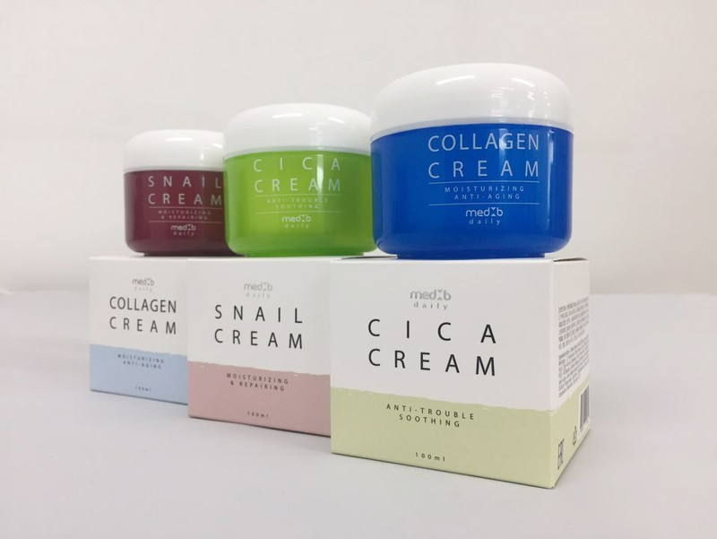 Med B Daily Cream Collagen