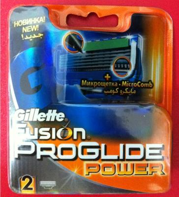 Сменные кассеты от Gillette