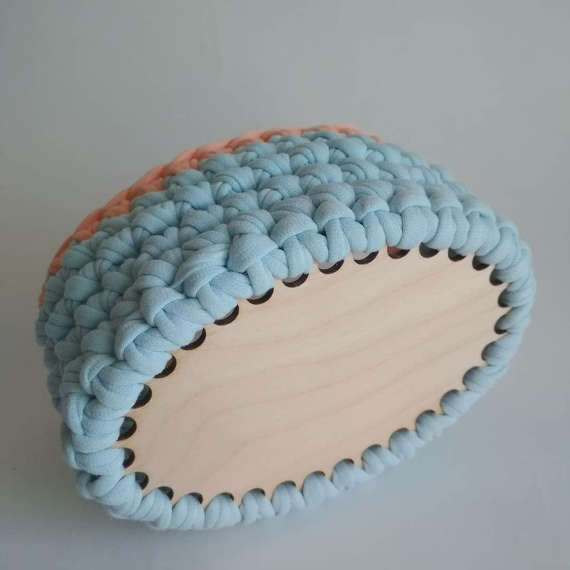 Донышки для вязания корзин