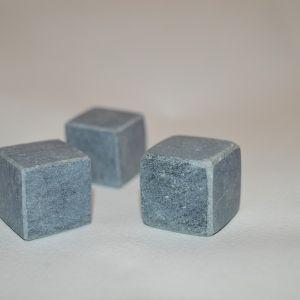 Кубик неполированный с фасками (стеатит)