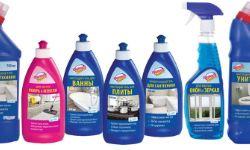 Стиральные порошки, моющие и чистящие средства