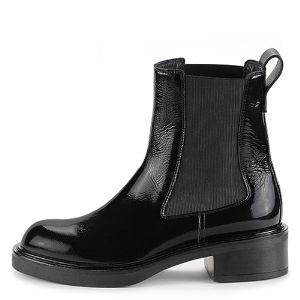 Кожаные женские ботинки