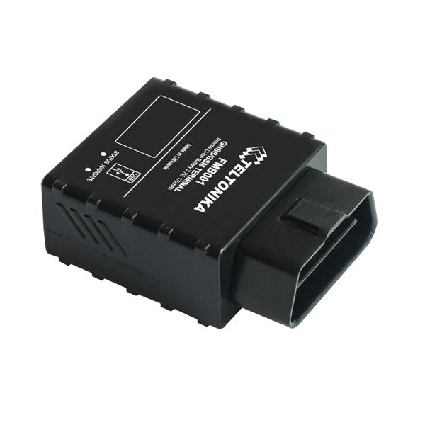 FMB001 — это передовой терминал для отслеживания транспортного средства в режиме реального времени с поддержкой GNSS, GSM и Bluetooth® связи, который может собирать координаты и другие полезные данные, включая данные бортового компьютера и передавать их через сеть GSM на сервер. Это устройство идеально подходит для приложений, использующих данные о местонахождении удаленных объектов и может применяться в: управлении автопарком, компаниях по аренде автомобилей, службах такси, а также в личных автомобилях и т. д.. FMB001 подключается непосредственно к OBDII разъему автомобиля для считывания параметров бортового компьютера. ОСНОВНЫЕ ОСОБЕННОСТИ: •Возможность считывания OBDII данных. FMB001 подключается напрямую в OBDII разъем и может считать до 32 параметров бортового компьютера. •Bluetooth. Встроенный интерфейс Bluetooth обеспечивает беспроводное подключение гарнитуры и других Bluetooth датчиков. Звоните своим рабочим используя Bluetooth гарнитуру. Больше никаких несанкционированных звонков! Будьте уверены, ваши рабочие в безопасности, используя беспроводную гарнитуру вместо телефона. •Считывание данных и настройка трекера по беспроводной связи Bluetooth. Нет необходимости в неудобной конфигурации через SMS или поиске трекера в труднодоступных местах для подключения USB-кабеля. Одно нажатие — и ваше устройство подключено к конфигуратору через Bluetooth. •Карта Micro SD. Поддержка карты microSD объёмом до 32 GB предотвратит потерю данныx! В зонах, где отсутствует GSM связь, FMB001 сохранит данные на Micro SD карту. •Улучшенная противоугонная система. Предотвратите кражу вашего автомобиля с улучшенной противоугонной системой. Совместите Auto Geofencing с новой функцией Towing Detection. •Обнаружение столкновений «Crash detection». Обеспечьте безопасность ваших рабочих с помощью функции «Crash detection». Получите уведомления сразу после происшествия, спасите жизнь рабочего!  Краткие характеристики: GSM•Четыре диапазона: 900/1800 МГц; 850/1900 МГц •GPRS-класс 12 (до 240 