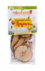 """ПолезноFF, Чипсы """"Груша"""", фруктовые чипсы, 30 гр."""
