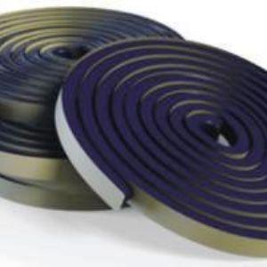 Пенебар (гидропрокладка). Гидроизоляционная прокладка, для герметизации швов бетонирования, а так же мест ввода коммуникаций. Обладает низкой водонепроницаемостью. При взаимодействии с водой увеличивается в объеме, образует гель, находясь в теле бетона. Цена: 300 руб/п.м., фасовка: в рулоне по 5 п.м.