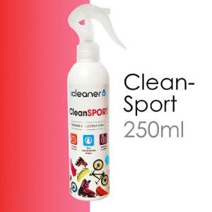 Очищает спортинвентарь от загрязнений.