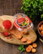 Сухари Багетные со вкусом Красная икра (коррекс) 100 гр
