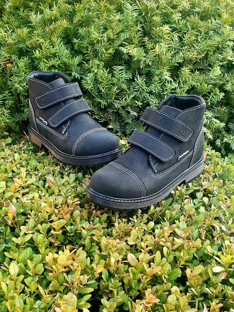 Профилактические ботинки. Натуральная кожа снаружи, внутри итальянская байка. С 26 по 40 р