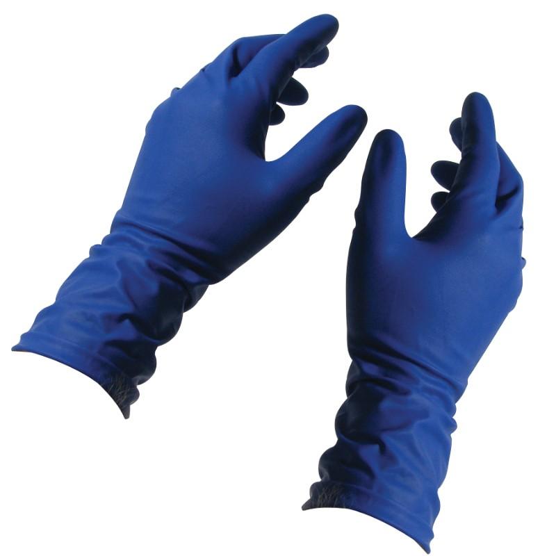 Перчатки хозяйственный резиновые High risk, размер L