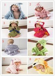 Детские ванные халаты оптом