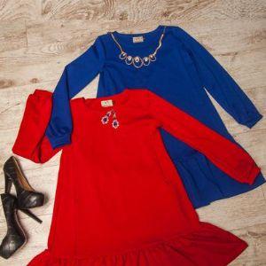 Платье с оборкой Lullababe.