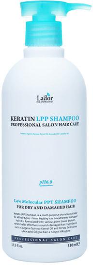 Кератиновый безсульфатный шампунь для волос Keratin LPP Shampoo