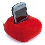 """Подставка для мобильного телефона """"Пуф"""" красный"""