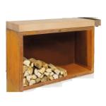 Разделочный стол OFYR 135 см с поленницей Rubberwood