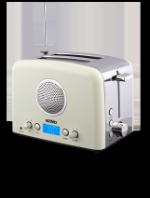 Тостер HERMES TECHNICS HT-TO104 с радио