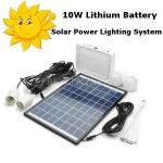 Система освещения на солнечной батарее 10W