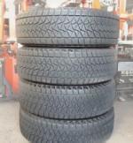 Шины б/у R16 215⁄70 Bridgestone зима