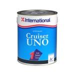 Необрастающая краска эродирующая International Cruiser UNO черная 0,75л.