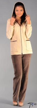Тефия  Велюровый костюм 4-4-119  Велюровый костюм 4-4-119