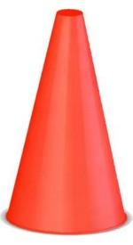 Гп14611 Конус для разметки полей и трасс 20 см красный