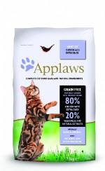 "Applaws Dry Cat Chicken with Duck, Беззерновой для кошек ""Курица и Утка/Овощи: 80⁄20%"""