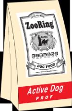 Active Dog,мясо молодых бычков и рис