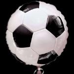 Шар фольга Футбольный мяч 45x45см