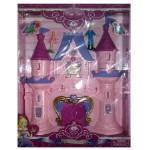 Замок принцессы с куклами 2926