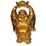Сувенир Хотей весельчак позолота 11,5см