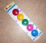 Набор 5 цветных магнитов 2,5см
