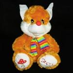 Мягкая игрушка Лиса FOX сердце 50см