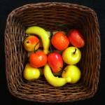 Набор фруктов пенопласт 10шт