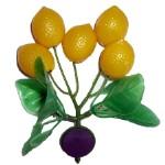 Лимоны на ветке с магнитом 11см