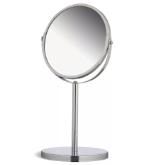Зеркало настольное увеличительное, диаметр 17см