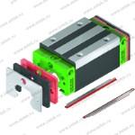 Система защиты от пыли ZZ для опорного блока HIWIN HG30