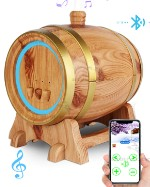 Ультразвуковой аромадиффузор, электрическая аромалампа, арома увлажнитель Bluetooth Inbreathe Barell Barell38