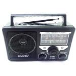 Радиоприемники с USB+SD с аккумулятором+от сети+дислей с выходом на микрофон, 1 динамик AT-816 RD-596 - RD-596