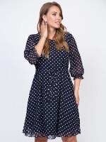Платье Шарман (горошек)