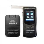 Алкометр Алкотектор PRO-100 touch-M (P) с электрохимическим датчиком с внешним принтером, профессиональный алкотестер с поверкой
