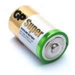 Батарейка GP Super Alkaline D, LR20