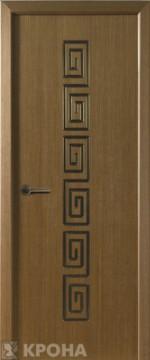 Дверь межкомнатная Крона Греция ДГ