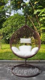 Кресло подвесное плетеное SIESTA 38