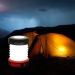 ThorFire Складывающийся гармошкой фонарь на солнечной батарее