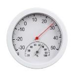 INBLOOM Термометр круглый, измерение влажности воздуха, блистер, 12,5см, пластик, металл
