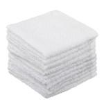 PROVANCE Лайт Комплект салфеток махровых для уборки 10 шт, 100% хлопок, 25х25см, белый