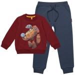 Комплект для мальчика из джемпера и брюк