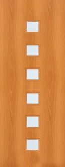 Ламинированная дверь (1С, 1Г) полотно
