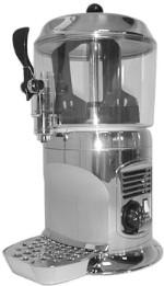 Аппарат для горячего шоколада Ugolini DELICE SILVER, 5 л, серебряный